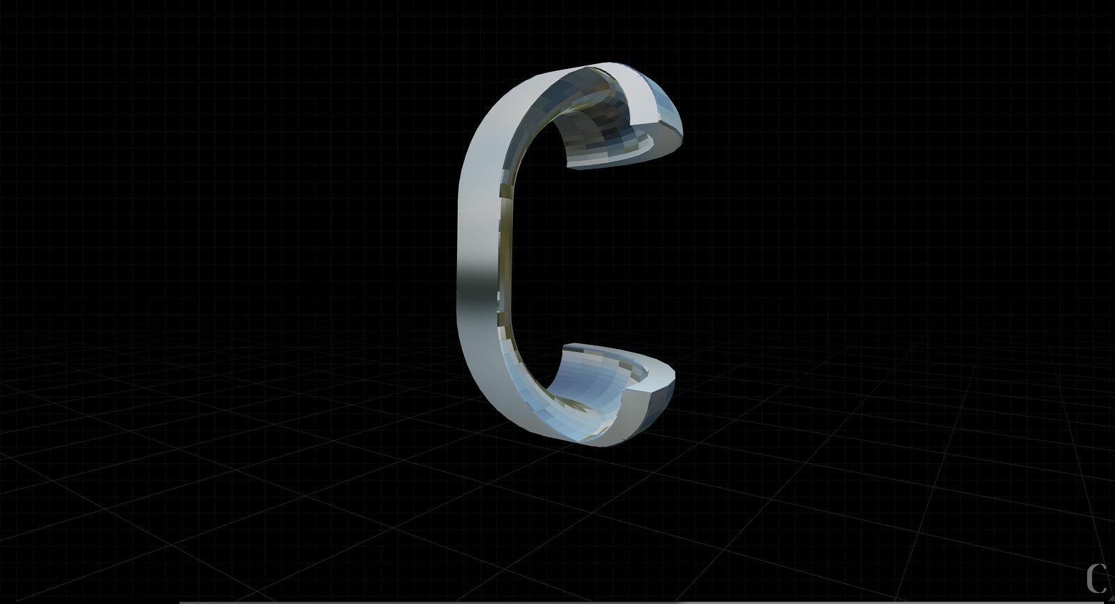 "Gramapoética - letra ""C"""