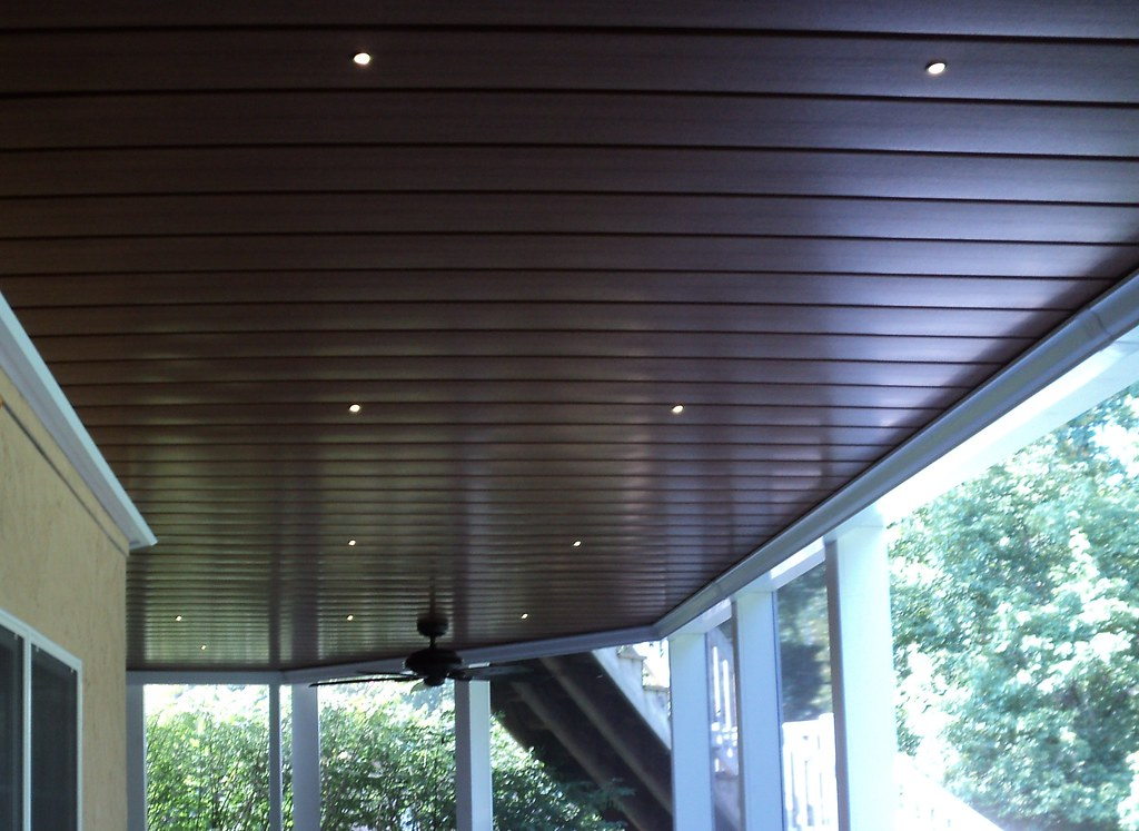 Under Deck Ceiling A Stunning Aluminum Under Deck System