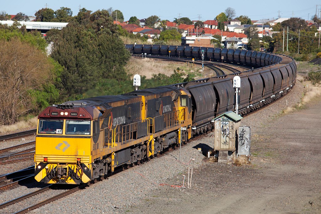 5003 Passing Warabrook by Trent