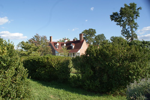 Main House from the garden, Sotterley Plantation, Hollywood