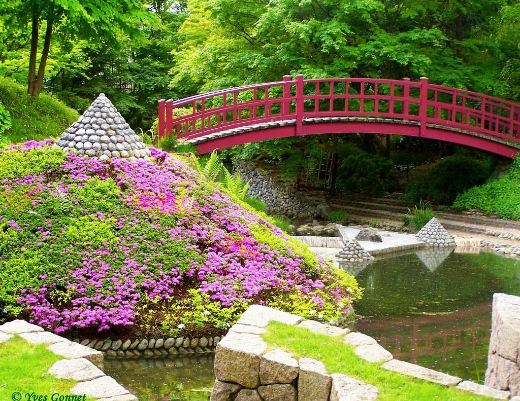 Jardin Japonais Albert Kahn Boulogne Billancourt Metro Bo Flickr