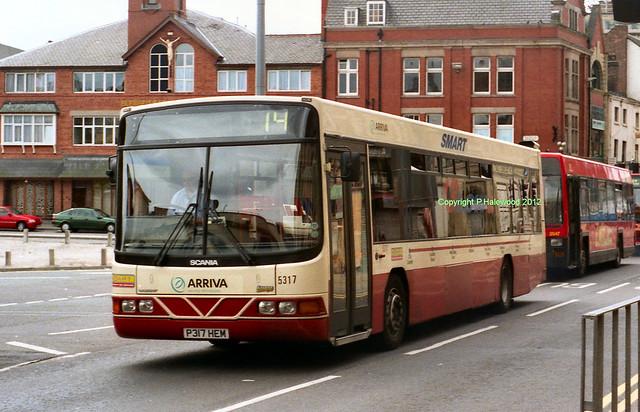 Arriva Merseyside 5317 (P317HEM)