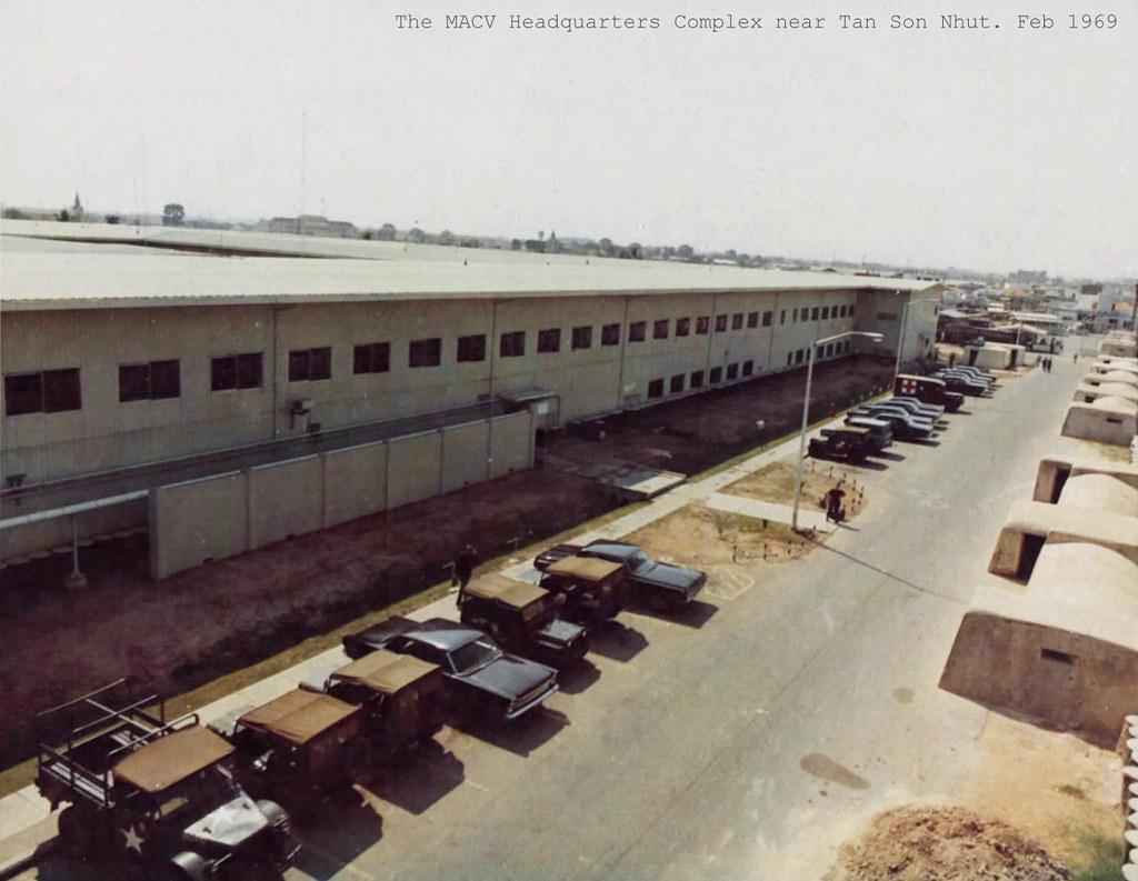 The MACV Headquarters Complex near Tan Son Nhut. source: …   Flickr