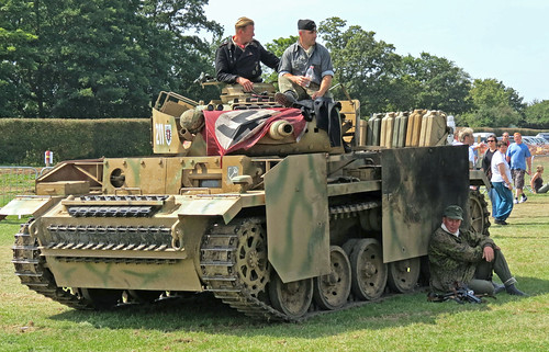 Panzer IV Replica at the Combined Ops show at Headcorn 2012