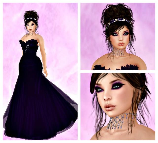 Purple Vintage Collage
