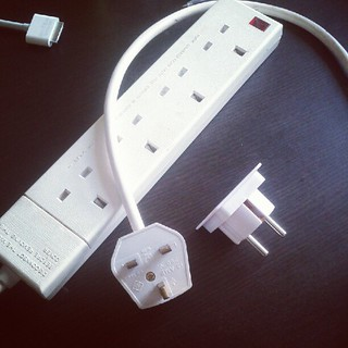 Geek travel tip: pack only one adapter (and one multi-plug) | by whatleydude