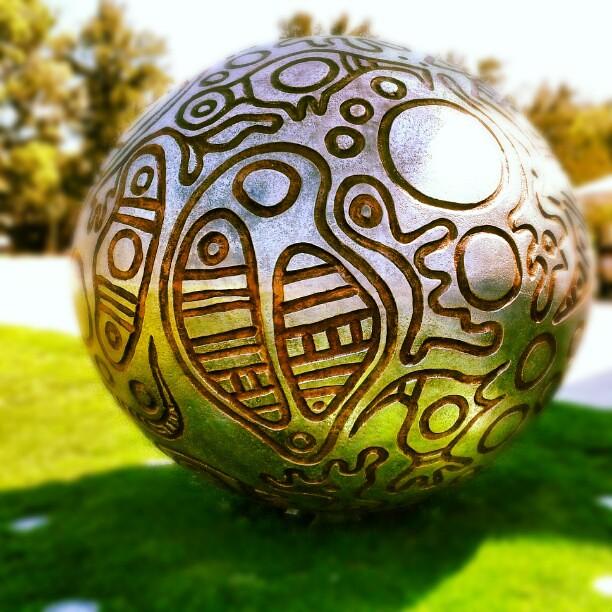 'Eran' by Indigenous Australian artist Thanakupi of Weipa, Queensland