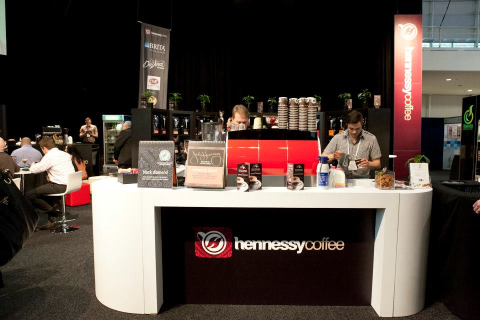 Exhibition Stand Coffee : Exhibition stand hennessy coffee arc d australasian u flickr