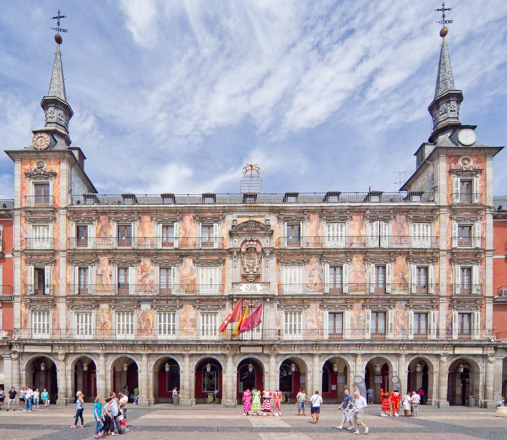 Casa De La Panaderia Plaza Mayor Madrid J L Mm Flickr
