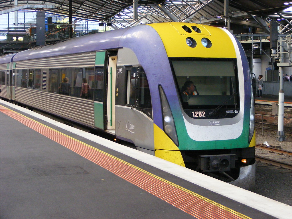 V Line 1202 Southern Cross 02.03.10 by Andy Cole