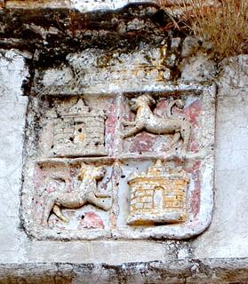Antigua (Guatemala). Escudo de Castilla y León