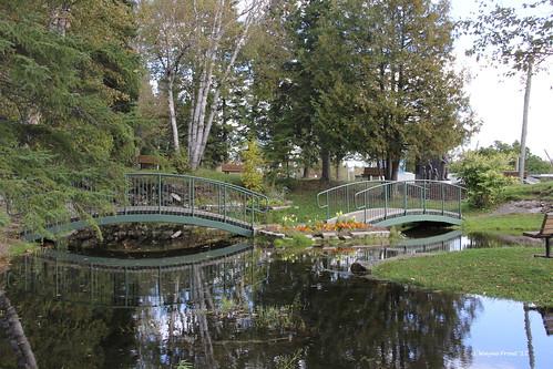 pond scenic footbridges schumacherontario schumacherlionsparkandtrail cityoftimmins
