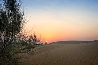 Dubai desert sunrise | by Tigra K