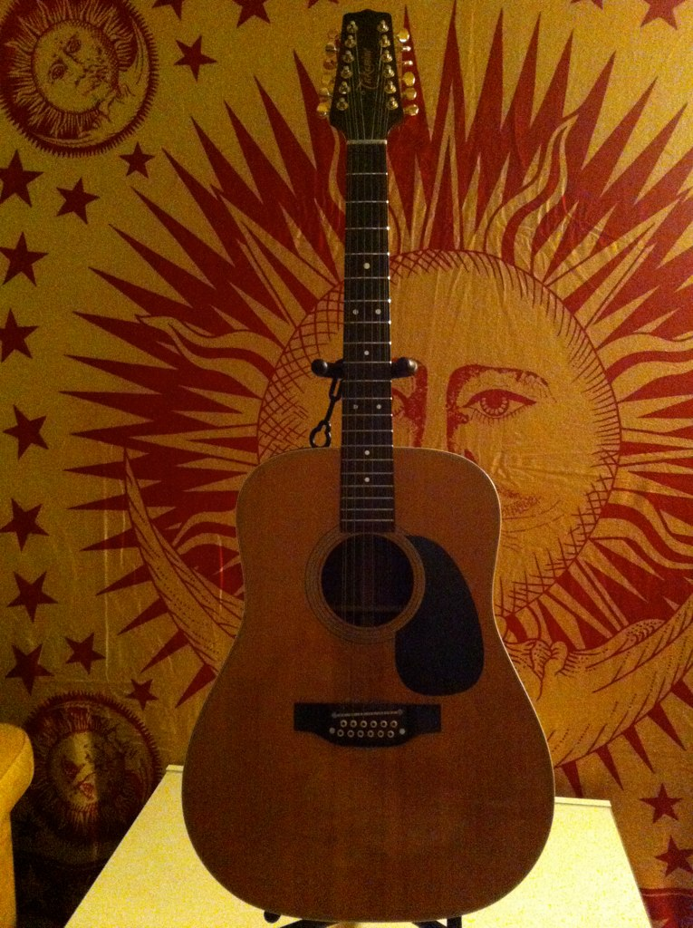 guitarra ac stica takamine 12 cuerdas vista frontal flickr. Black Bedroom Furniture Sets. Home Design Ideas