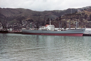 MV Megantic at Lyttelton NZ