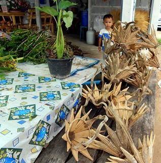 Hand made orchid holders | סלים לשתילת סחלבים | by Thai Food Blog