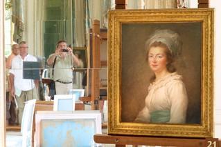 A selfie at Versailles - Louise X!Vs great palace at Versail