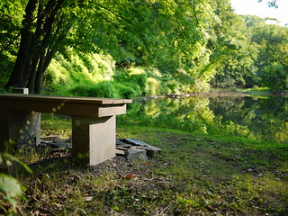 bench and river | by Keithius