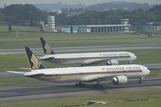 Singapore Airlines Boeing 777-300ER; 9V-SWN@SIN;02.08.2012/668dg   by Aero Icarus