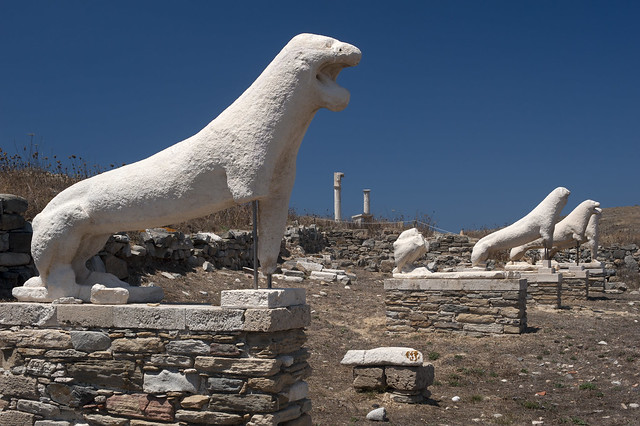 Delos - Terrace of the Lions
