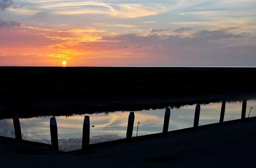 sunset sky sun haven netherlands waddenzee twilight harbour silhouettes noordzee northsea groningen henk waddensea noordpolderzijl nikond90 powerfocusfotografie mygearandme ajackolanternsmile