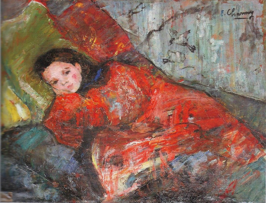 Charmy Emilie French 1878 1974 Young Girl Reclining Flickr