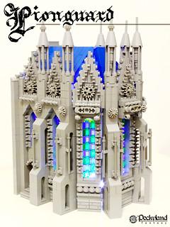 LEGO Lionguard Church 1