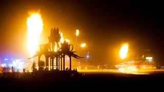 Burning Man 2012 - Bottlecap Gazebo | by extramatic