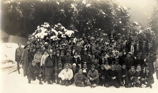 Snow day in 1926 or 1927