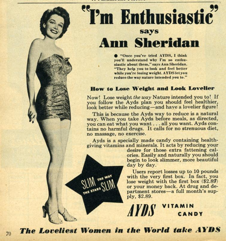 AYDS Vitamin Candy 1950