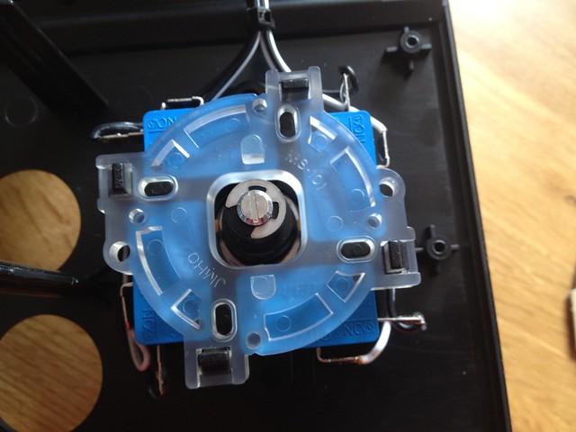 iCade stock joystick and gate