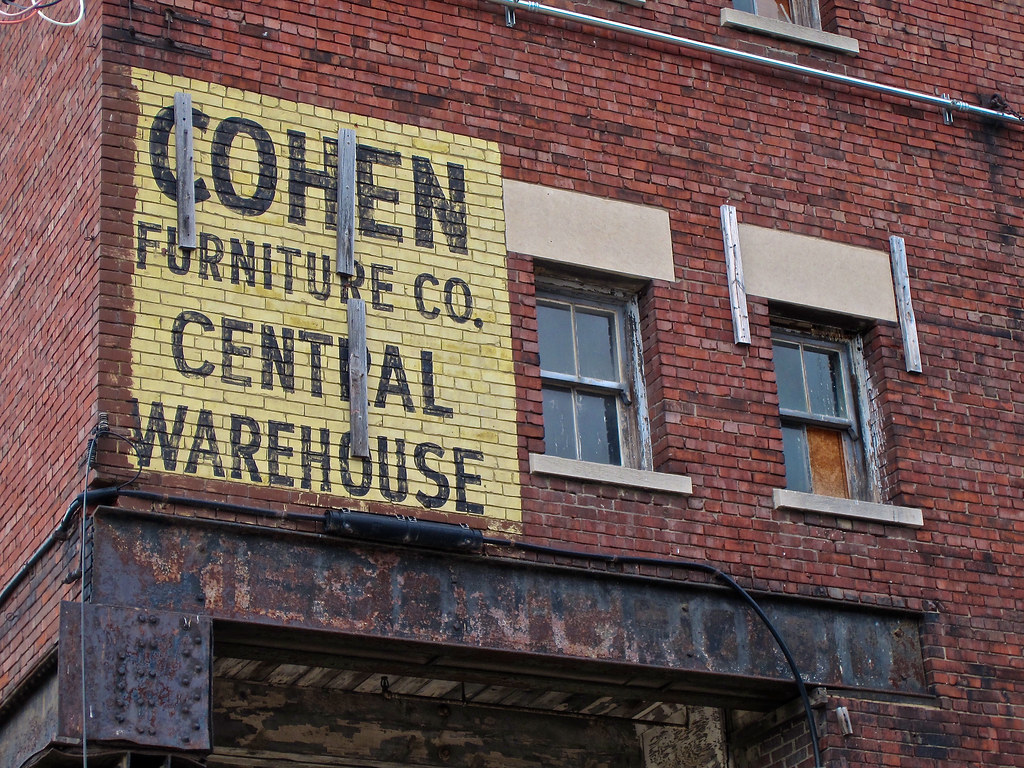 Cohen Furniture Co Warehouse Peoria Il Former Cohen S F Flickr