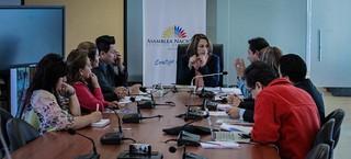 16 de agosto de 2016 - Reunión con Organizaciones Sociales de Artesanos de Quito Tema: Presentación de propuestas del Proyecto de Ley del Artesano.   Fotografía: Fabián Baquero B./Asamblea Nacional