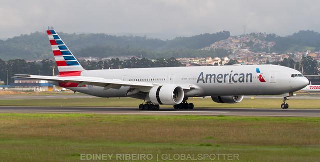 BOEING 777-300ER (N726AN) AMERICAN AIRLINES | GUARULHOS | GRU-SBGR