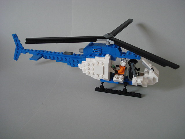 Police helicopter WIP