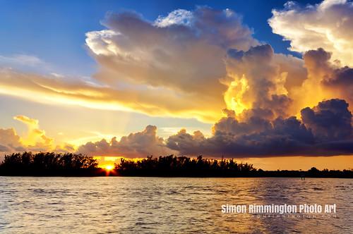 sunset florida stormclouds nikond90