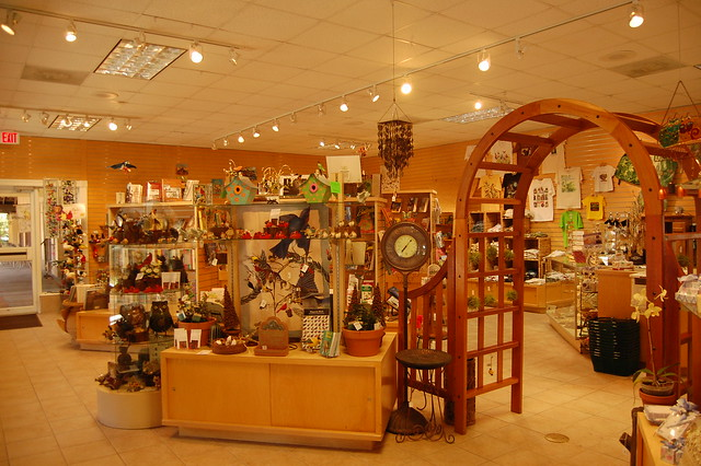Tower & Garden Gift Shop Interior