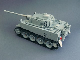 Lego ww2 -Tiger I Ausf. H early production-