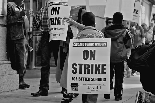 Chicago teachers Union strike 2012 | by AlejandroQuinones