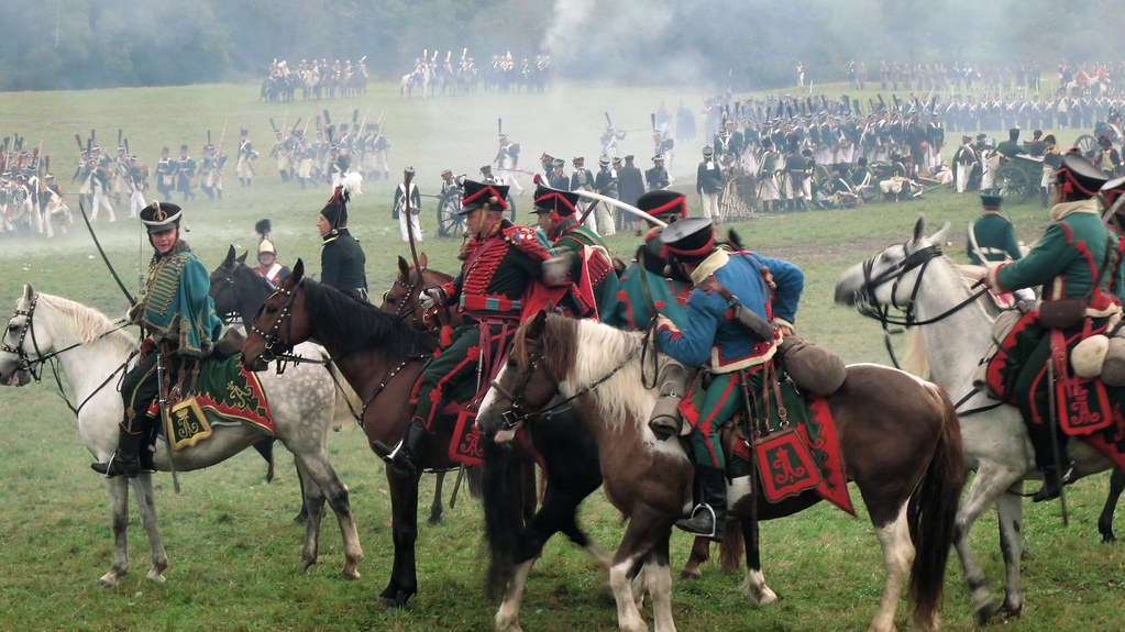Battle of Borodino 1812 | Military reenactment, to coincide … | Flickr