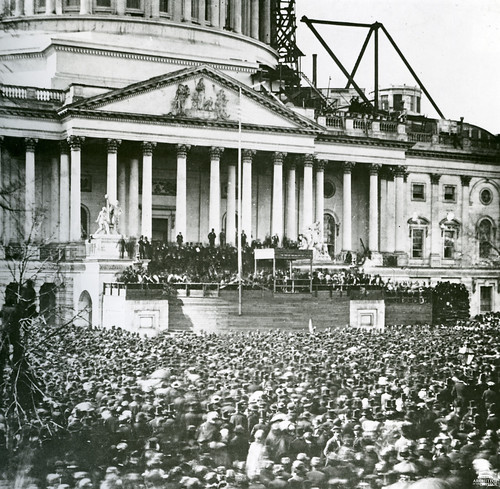 1861 Abraham Lincoln's First Inauguration | by USCapitol