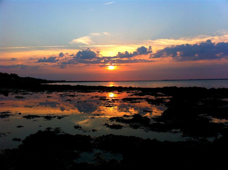Sunset over Ile de Ré