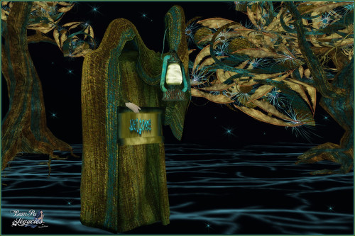 Mythol Greeter Green-Turquoise | by Bambi Chicque of BamPu Legacies