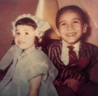 Cindy and Jimmy Gamboa on Easter.