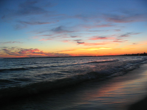 sunset lake ontario canada beach erie