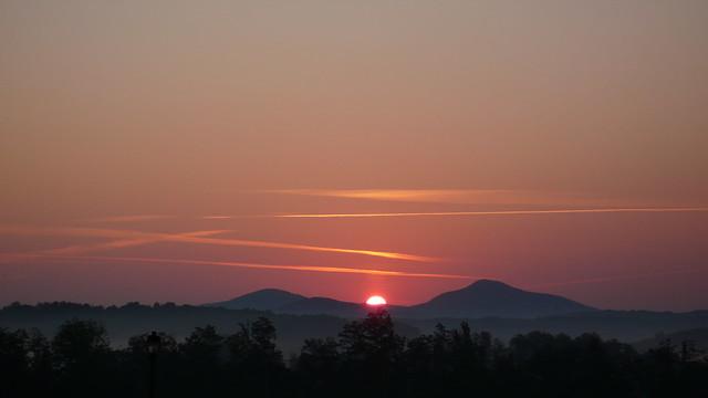 Sunrise North Georgia USA