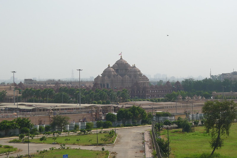 Akshardham temple closer up