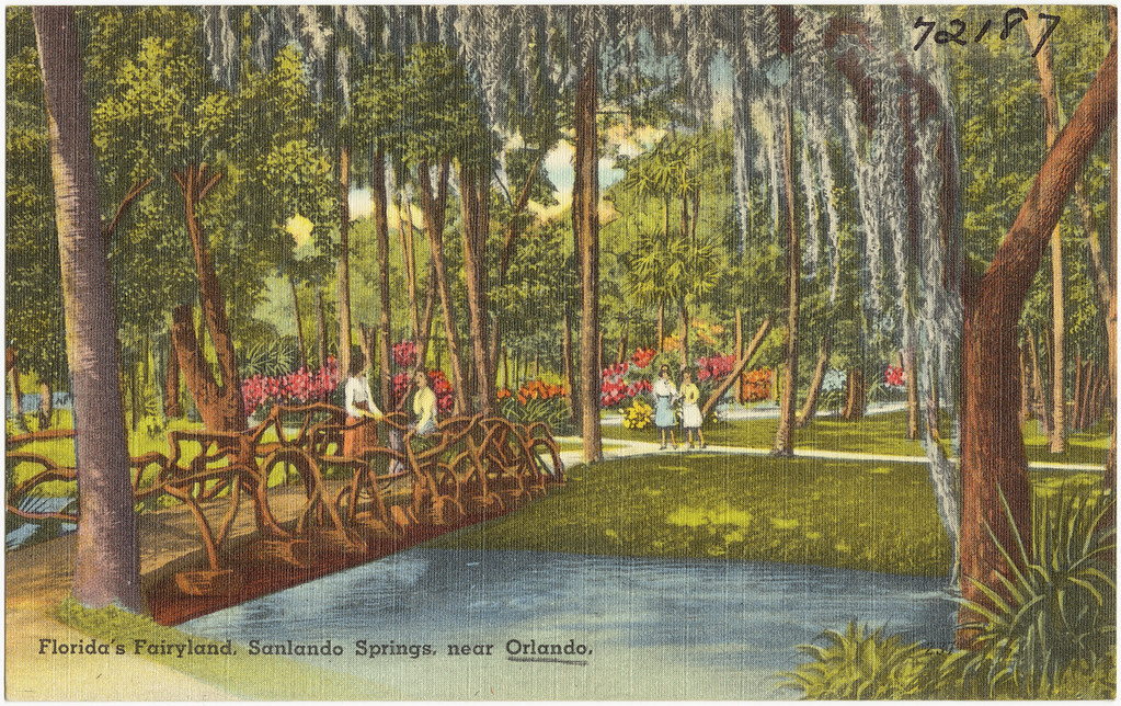 Florida S Fairyland Sanlando Springs Near Orlando Flickr