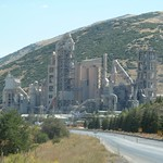 Goltas cement factory outside Isparta