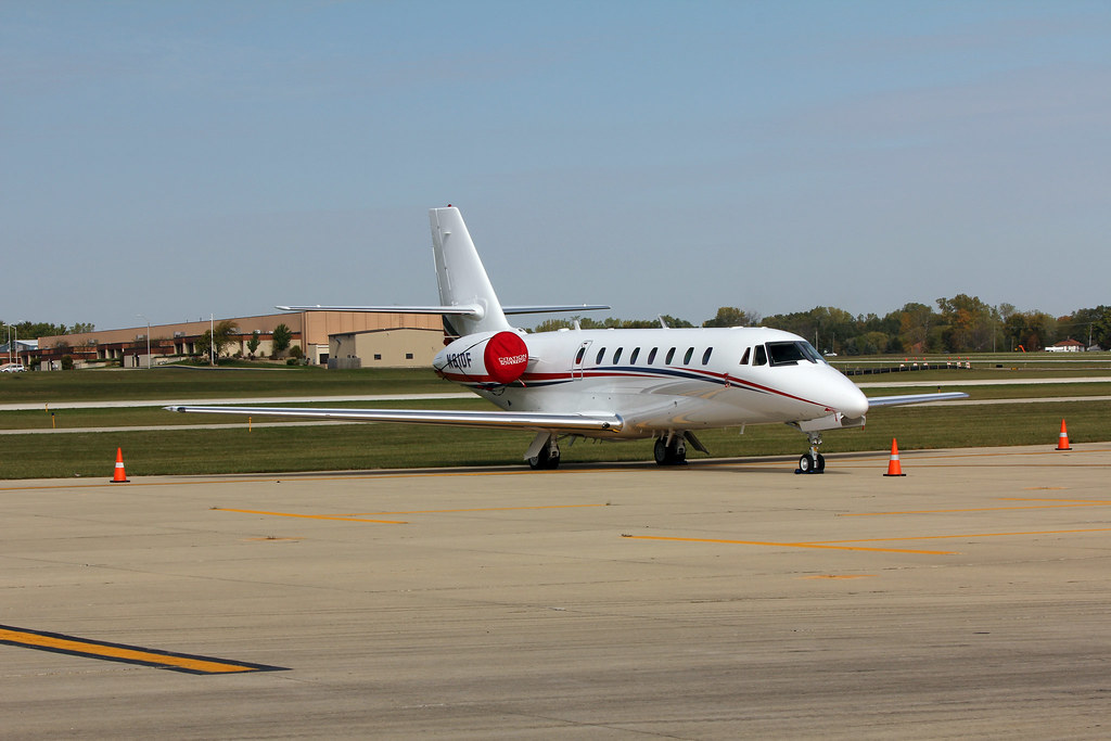 N61DF - Cintas Corporation No 2 - Cessna 680 - Waukegan IL… | Flickr